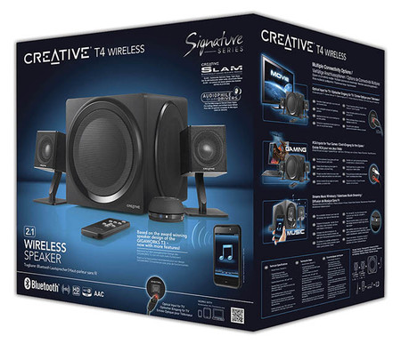 Creative T4 Wireless Signature Series 2.1
