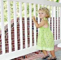 Un entorno seguro para los niños en balcones y terrazas