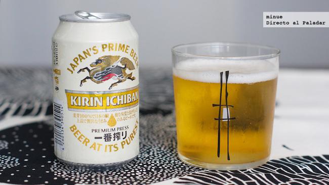 Cerveza kirin ichiban - cata