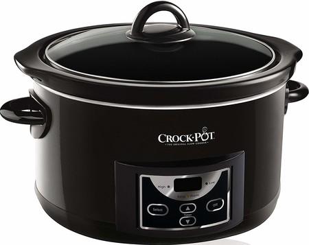 Por 49,99 euros tenemos la olla de cocción lenta Crock-Pot de 4,7 litros  a la venta en eBay con envío gratis