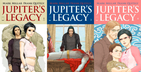 Jupiters Legacy Covers