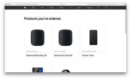 Apple ha actualizado la web que más frecuentemente te gustaría usar: la de sus pedidos online