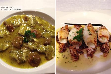 Restaurante Yandiola. Disfrutar de buena comida dentro de un edificio emblemático