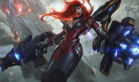 League of Legends: Miss Fortune se convierte en la Diosa de las Armas gracias a su nueva skin