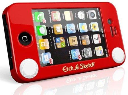 Etch-A-Sketch ahora como carcasa para tu iPhone