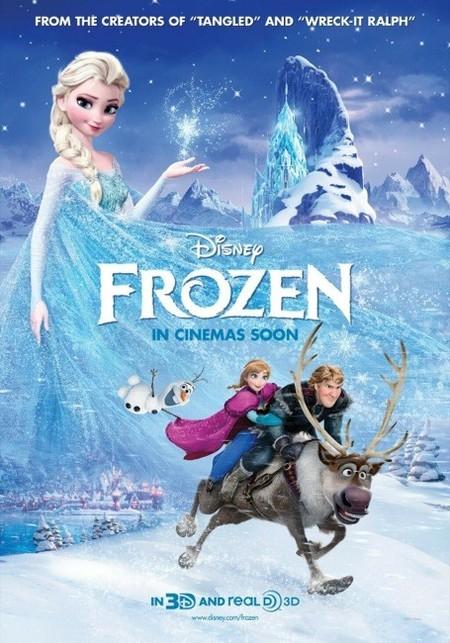 En Frozen y el reino de hielo hay princesas, príncipes y amor verdadero