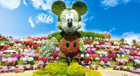 Mickey Mouse Gigante De Flores