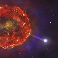 Esta estrella viaja ahora a 900.000 kilómetros por hora por nuestra galaxia debido a una explosión termonuclear
