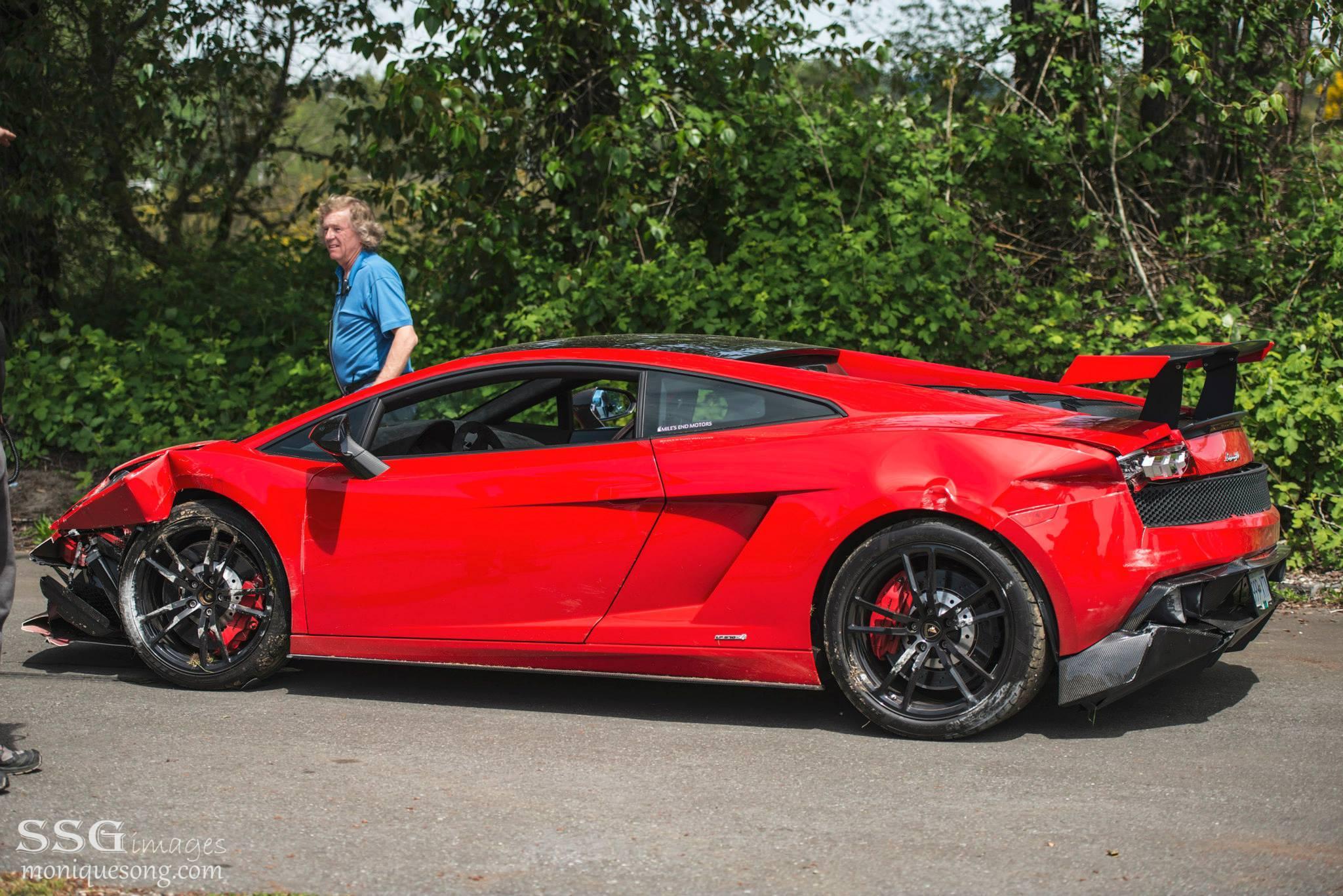Choca En Canad 225 Lamborghini Gallardo Lp 570 4 Super Trofeo