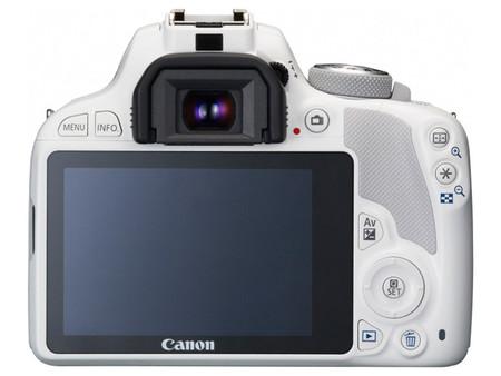Canon 100D Blanco Trasera