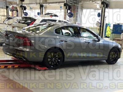 ¡Filtrado! El nuevo Volvo S60 es, como imaginabas, un S90 a escala