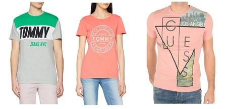 Ofertas en camisetas Guess, Hugo Boss, Calvin Klein o Tommy Hilfiger disponibles por menos de 30 euros en Amazon en tallas sueltas
