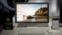 LG Chromebase, toma de contacto