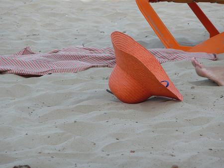 la pamela en la playa