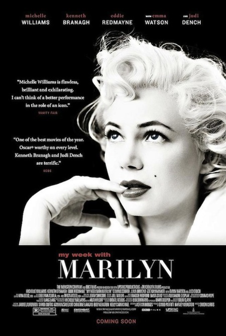 Moda de cine (XVI): My Week With Marilyn