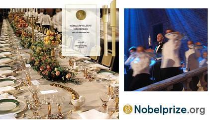 El banquete de los Premios Nobel, un verdadero secreto