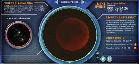 Webs donde apreciar el eclipse de luna roja