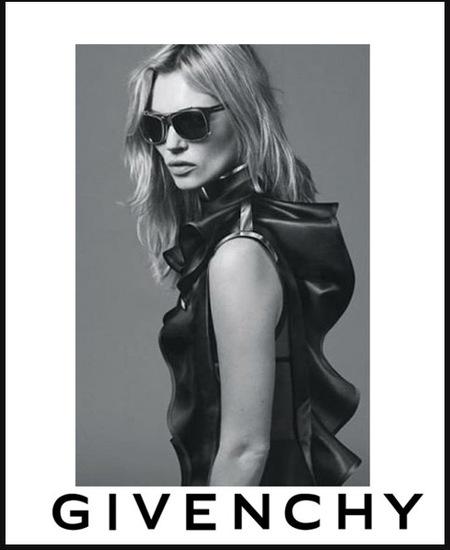 Kate Moss, el nuevo rostro de Givenchy