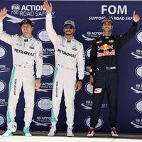 Hamilton como en casa: bate a Rosberg en la lucha por la pole position
