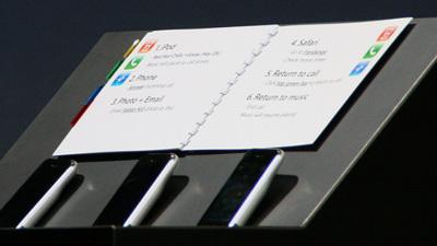 Notas de Steve Jobs para la presentación del iPhone original, una imagen para el recuerdo