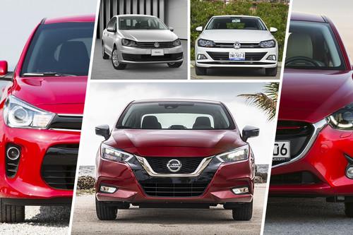 Analizamos al Nissan Versa 2020 vs. KIA Rio, Mazda 2 y Volkswagen Vento y Virtus