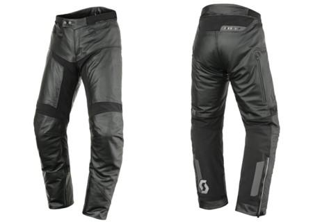 Pantalón Scott Tourance DP, combinación de cuero y cordura para una mayor protección