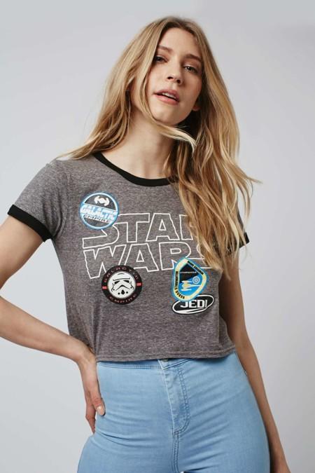 Camiseta Star Wars Mujer