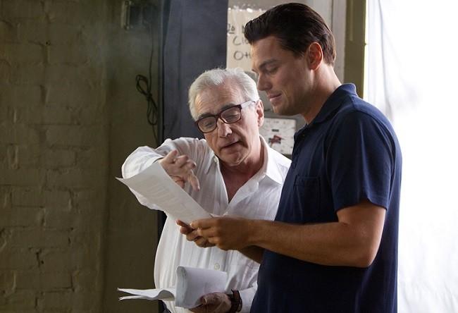 Martin Scorsese en el rodaje de 'El lobo de Wall Street'