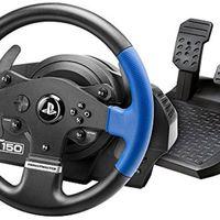 Volante para PS3 y PS4 Thrustmaster T150 RS, por sólo 119,99 euros en Amazon