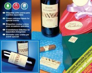 Etiquetas para botellas de vino personalizadas