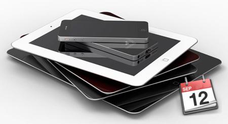 El iPhone 5 y el iPad mini podrían presentarse en un evento especial el próximo 12 de Septiembre
