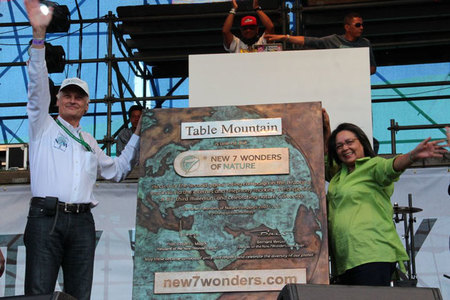 Table Mountain, oficialmente declarada una de las 7 Nuevas Maravillas del Mundo