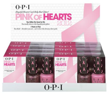 Pink of Hearts, lo nuevo de OPI para ayudar en la lucha contra el cáncer