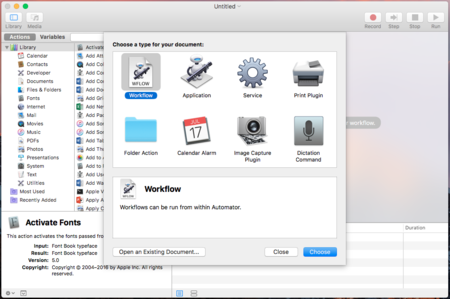 Apple planea cambios en Automator y AppleScript tras despedir a su responsable