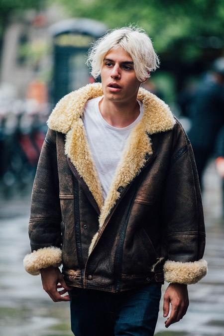 El Mejor Street Style De La Semana Chaqueta Abrigo Borreguillo Shearling Jacket 02