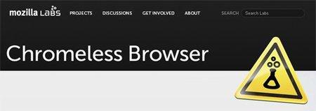 Chromeless 0.2 construye tu propio navegador utilizando la interfaz de usuario HTML, CSS y JS
