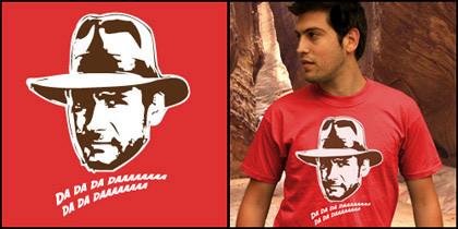 Camiseta Indiana Jones de Shirtcity