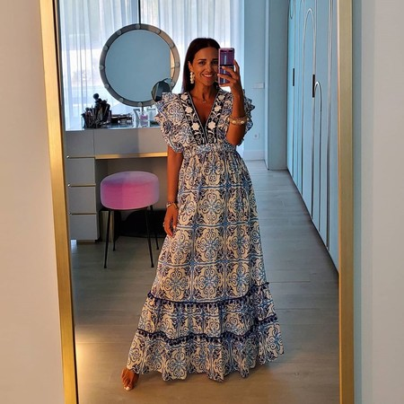 Paula Echevarría estrena el vestido boho más ideal y nosotros te proponemos siete diseños más para lucir como ella