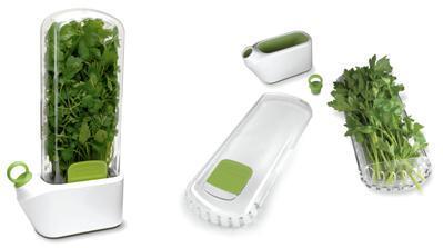 Mantén tus hierbas aromáticas frescas con Herb-Savor