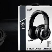MSI presenta los IMMERSE GH61, sus nuevos auriculares con DAC ESS Sabre y drivers diseñados por Onkyo