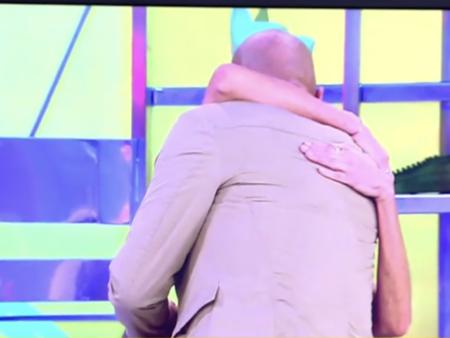 Abrazo Paz Padilla y Kiko Matamoros, 'Sálvame' - Telecinco