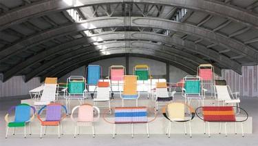 Las 100 sillas de Marni: diseño, reciclaje y cooperación, unidos