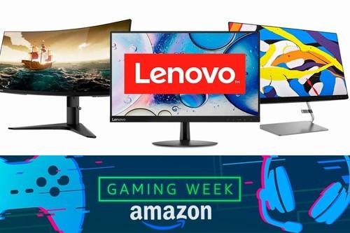 Gaming Week de Amazon. Estos 14 monitores de Lenovo están superrebajados hasta el 26 de agosto