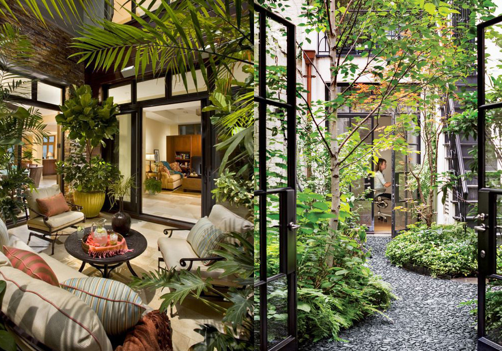11 ideas ganadoras para decorar el patio de tu casa - Como decorar patios pequenos ...