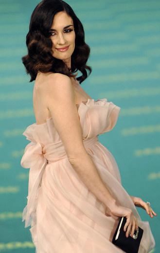 El look de Paz Vega en los premios Goya 2009