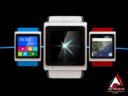 A.I Watch, móvil Android con interfaz pseudo Windows Phone en formato reloj de muñeca