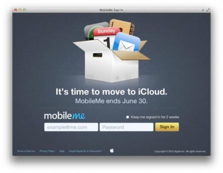 MobileMe move to iCloud