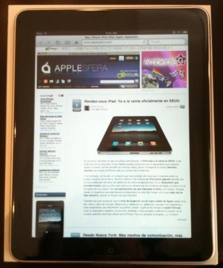 Rendez-vous avec l'iPad: Ya a la venta oficialmente en EEUU