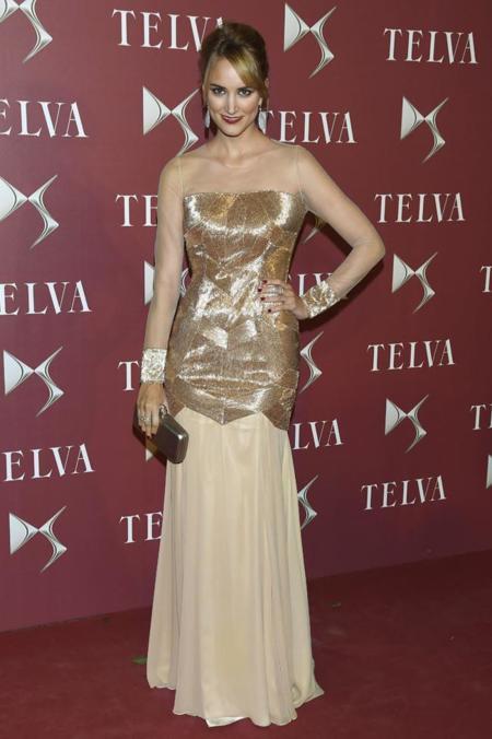 Alba Carrillo en la gala de premios T de Telva 2014