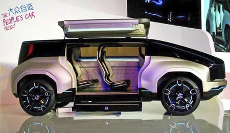 Volkswagen 4Fun presentado en Shanghái